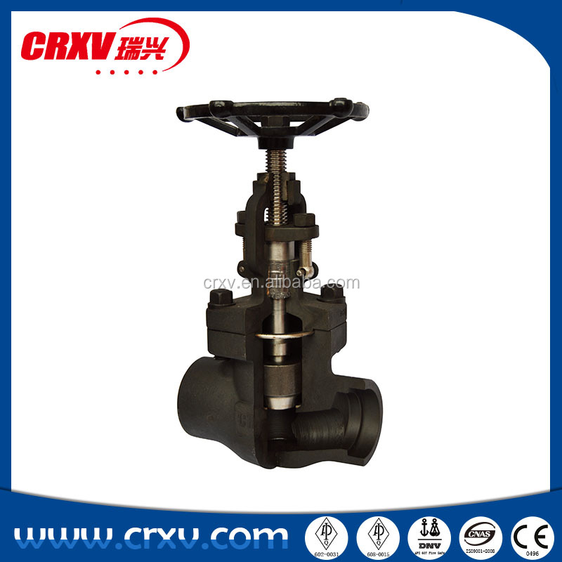Forged Steel Globe Valve Carbon Steel A105N Bolted Bonnet BB
