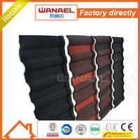 roof material galvanised copper waterproof stone zinc coated/Wanael roof tile/dog house