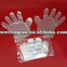 disposable ldpe hdpe pe gloves