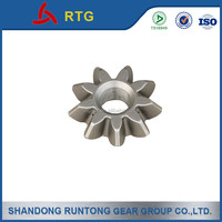 Small forging bevel gear, straight bevel gear