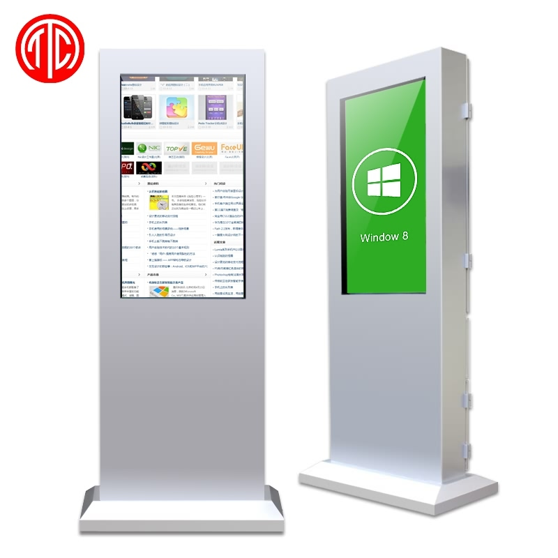 "46"" Outdoor 3g wifi Network HDMI LCD Advertising Kiosk LCD 1080 hdmi advertising media player"