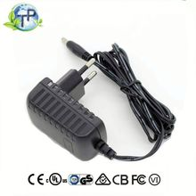 5 volt Power supply 5V 1A ac/dc switching power adapter charger with EU AU US UK plug