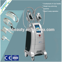 SHHB ETG50-4S cryolipolysis cool slimming machine with cold and hot treatment for fat removal