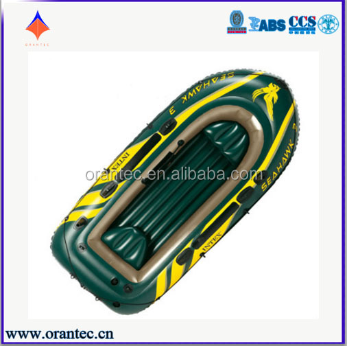 INTEX PVC Hull Material and CE Certificate Fishing Boat/ Inflatable Boat for 3 Persons