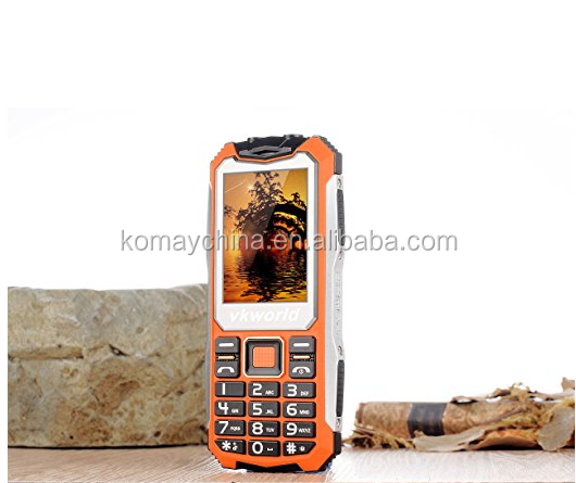 "Vkworld Stone V3S Specs GSM 2.4""Display Long Standby Time Mobile Phone, Shockproof Waterproof Snow Proof, Support FM, Bluetooth,"