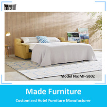 French style folding salon furniture sofa bed living room sets MF-SB02
