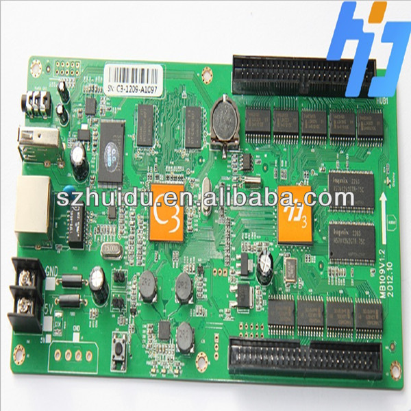 rgb led display board control card,strongest function ad easiest software,hot sales