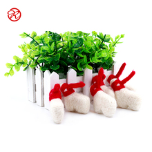 High Quality Handicraft Cute 100% Wool Felt Animals for Toy with CE certificate