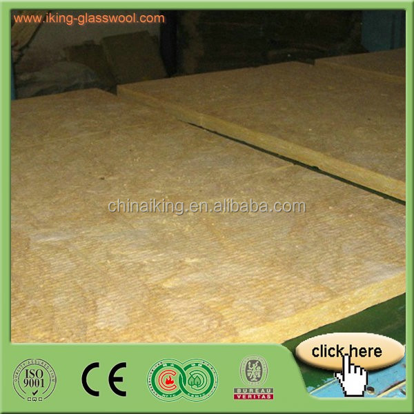 Rolled Rockwool Insulation Blanket Light Weight Building Material 30mm - 100mm Thick