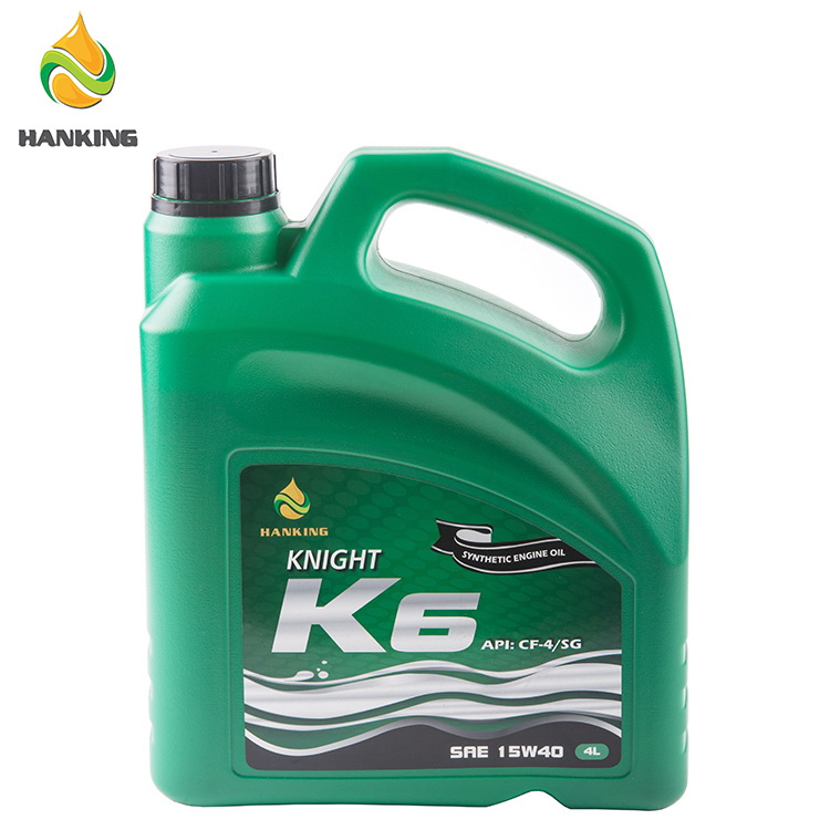 HANKING KNIGHT K6 15W40 Diesel Engine Oil 4L*4 API CF-4/SG Engine Lubricants Oil