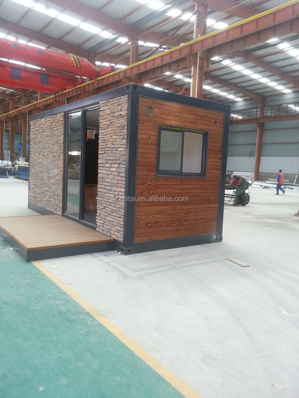 High quality low cost mobile prefabricated folding for Maison low cost container