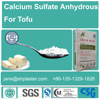 calcium sulfate anhydrous for tofu from China direct factory over 20 year's experience, ,E516 Food grade. CAS 10101-41-4