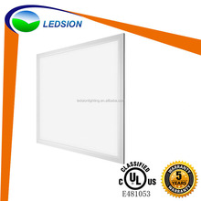 High quality and fast delivery 40w 60w ultra thin recessed square led flat panel ceiling wall light with cheap price