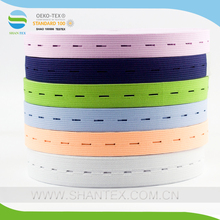 Adjustable Knitted Button Hole Elastic Band
