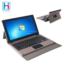11.6 inch Tablet PC Leather Keyboard Case With Trackpad For Windows System Tablet PC Magnetic Keyboard Cover