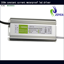 high efficiency waterproof 48v 30a switching power supply with constant current 200w 16.7A 12V CE&RoHS ip67