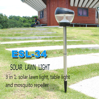 Innovative Cheap Mosquito Killer Led Solar Lighting For Yard