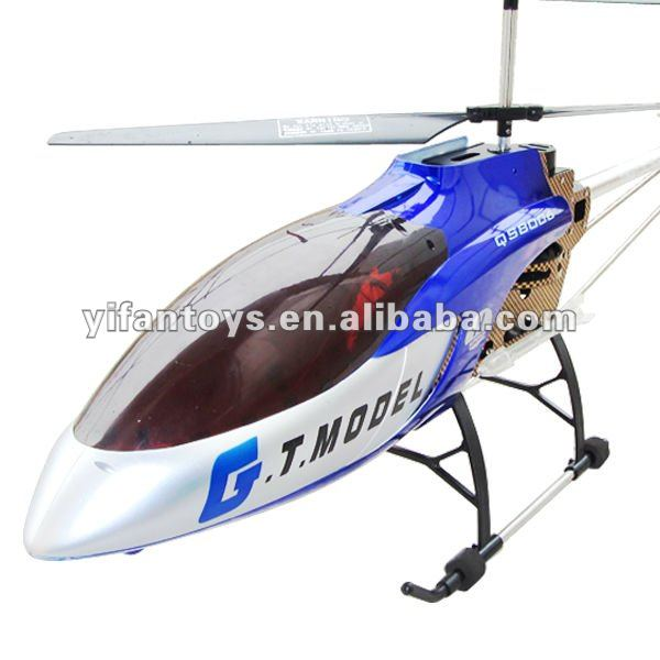 53 Inch Extra Large QS8006 2 Speed 3.5 Ch Outdoor RC Helicopter Builting Gyro Rc Big Helicopter
