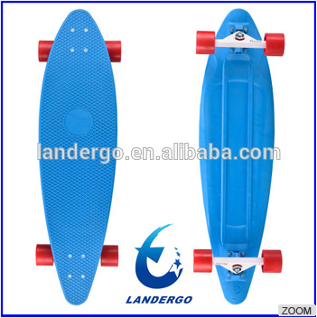 new design skate plastic board child toy skateboards longboard Plastic Longboard