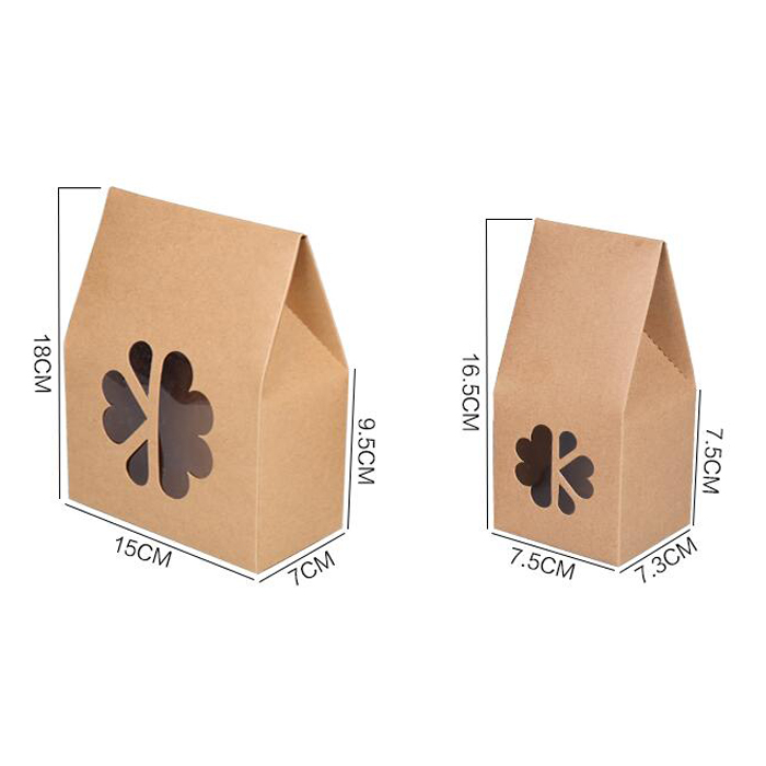 fashion wholesale kraft paper package cosmetic paper box