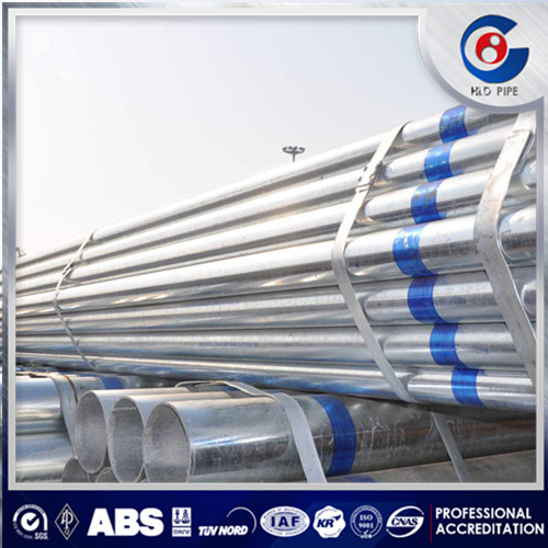 huludao factory galvanized steel water pipe specification