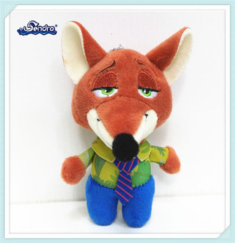 customized fancy cartoon movie stuffed animal wolf plush toy