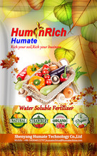 Huminrich Water Soluble Types Of Chemical Compound NPK Fertilizers Organic Amendments To Soil