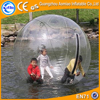 Cheap kids water game bubble ball water roller ball price, interesting water t ball toys
