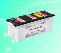 Chinese Manufacturer 12 Volt 135 AMP Dry Charging Automobile Battery 63513 With Best price