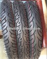 Motorcycle rubber tyre 90/90-18 with three patterns