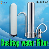2015 best home non-electric counter top Water Purifier Straw