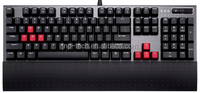 Comfortable Mechanical Keyboard with Volume Control and Detachable Wrist Rest
