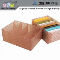 Alibaba china best sale storage box drawer divider for socks