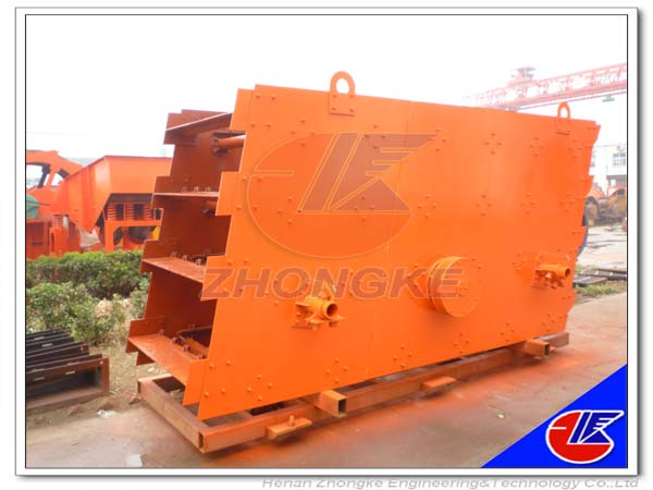 Unique design stone crusher vibrating screen
