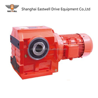 SEW type S series helical transmission worm drive gearbox for conveyor