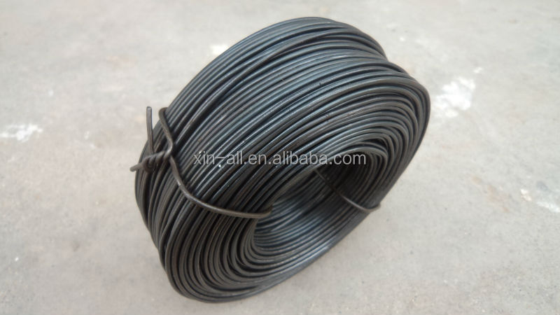civil constructions 1.24mm binding wire black annealed wire