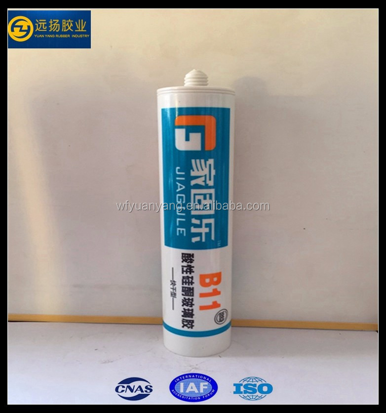 Acid Silicone Structural Adhesive Acetoxy Silicone Sealant For Decoration