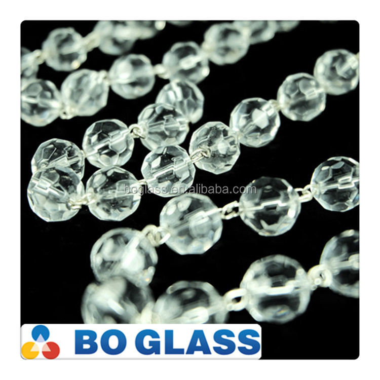 Crystal bead curtain wholesale for chandeliar from China factory