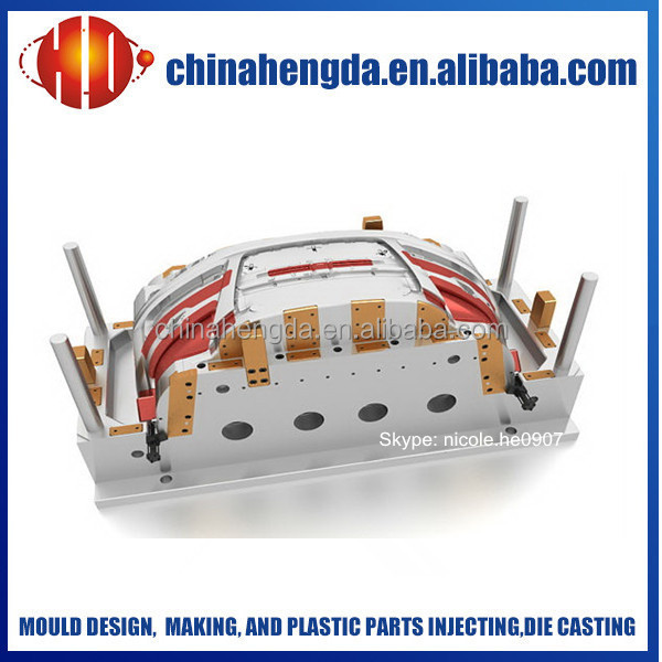 Mold for bumper car, car bumper mold manufacturer