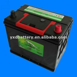 Producing 12V JIS Standard Lead Acid Car Battery 80D26L