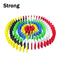 Hot sale education toys plastic colored domino