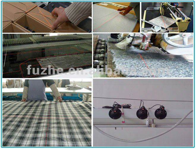 FU65011L100-BD22 High Power Line Laser Module for bridge saw, stone cutting machine position