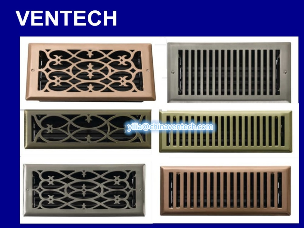 HVAC system grille floor grille mesh linear bar air grilles