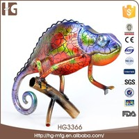 Wonderful abstract lizard shaped metal animla crafts