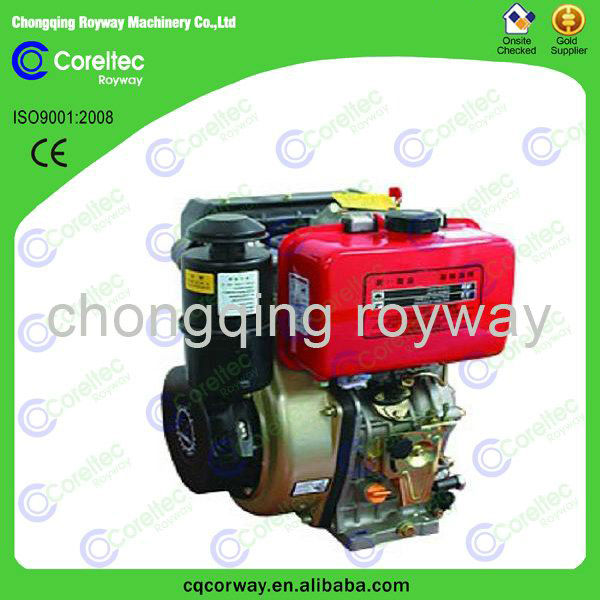 Widely Used 5HP Electric Start 170F 4-Stroke Air Cooled Diesel Engine Price