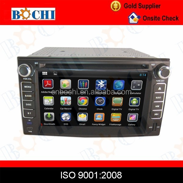 Car DVD player with android / wince system with navigation for KIA Cerato