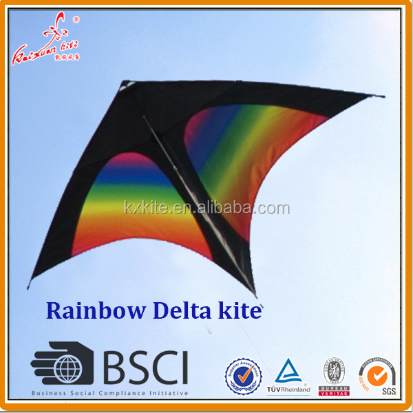 Rainbow kite from weifang kaixuan kite factory