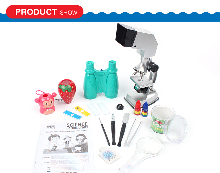 wholesale new kids educational science microscope toy with high quality