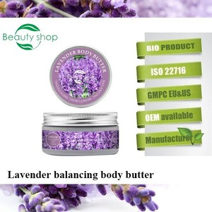 Lavender balancing & moisturizing body butter / beauty bath and body lotion