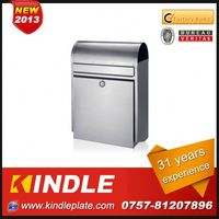 Kindle Professional waterproof cast wall mounted plastic mailboxes for sale with 31 years experience
